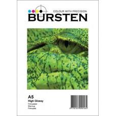 Фотобумага BURSTEN Глянец A5, 210 (50 л)..