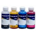 Комплект чернил InkTec для заправки принтеров Canon PIXMA G1400, G2400, G3400 100 мл x 4
