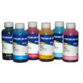 Комплект водорастворимых чернил InkTec для EPSON T08 картриджей (E0010) 100 мл x 6