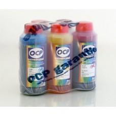 Комплект чернил OCP для картриджей CANON PGI-5 (PgBK) CLI-8 (C, M, Y, ..