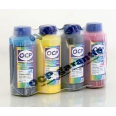 Комплект пигментных чернил OCP (BKP/CP 115, MP/YP 102) для Epson 100 м..
