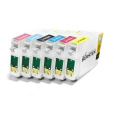Перезаправляемые картриджи BURSTEN NANO 1 для EPSON T50 T59 TX650 TX65..