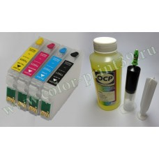 Промывочный набор для Epson ТХ117, T27, TX106, TX109, T26, TХ119, CX43..