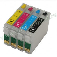 Перезаправляемые картриджи для Epson TX200, TX209, TX400, TX409, TX210..