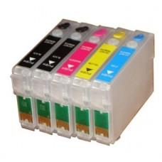 Перезаправляемые картриджи для Epson C110, T30, TX510..