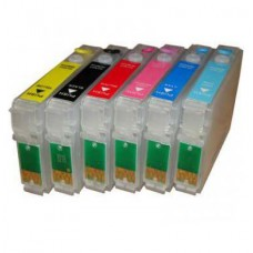 Перезаправляемые картриджи для Epson T50, T59, R270, R290, R295, RX610..