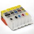 Перезаправляемые картриджи для Canon Pixma iP7240, MG5440, MG5540, MG6440, MX724, MX924 (PGI-450Bk CLI-451) x5 без чипов