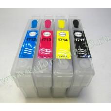 Перезаправляемые картриджи для Epson Expression Home XP-33, XP-103, XP..