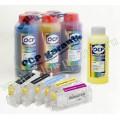 Набор для заправки OCP NANO для принтеров и мфу CANON Pixma iP4840 iP4940 iX6540 MG5140 MG5240 MG5340 MX884