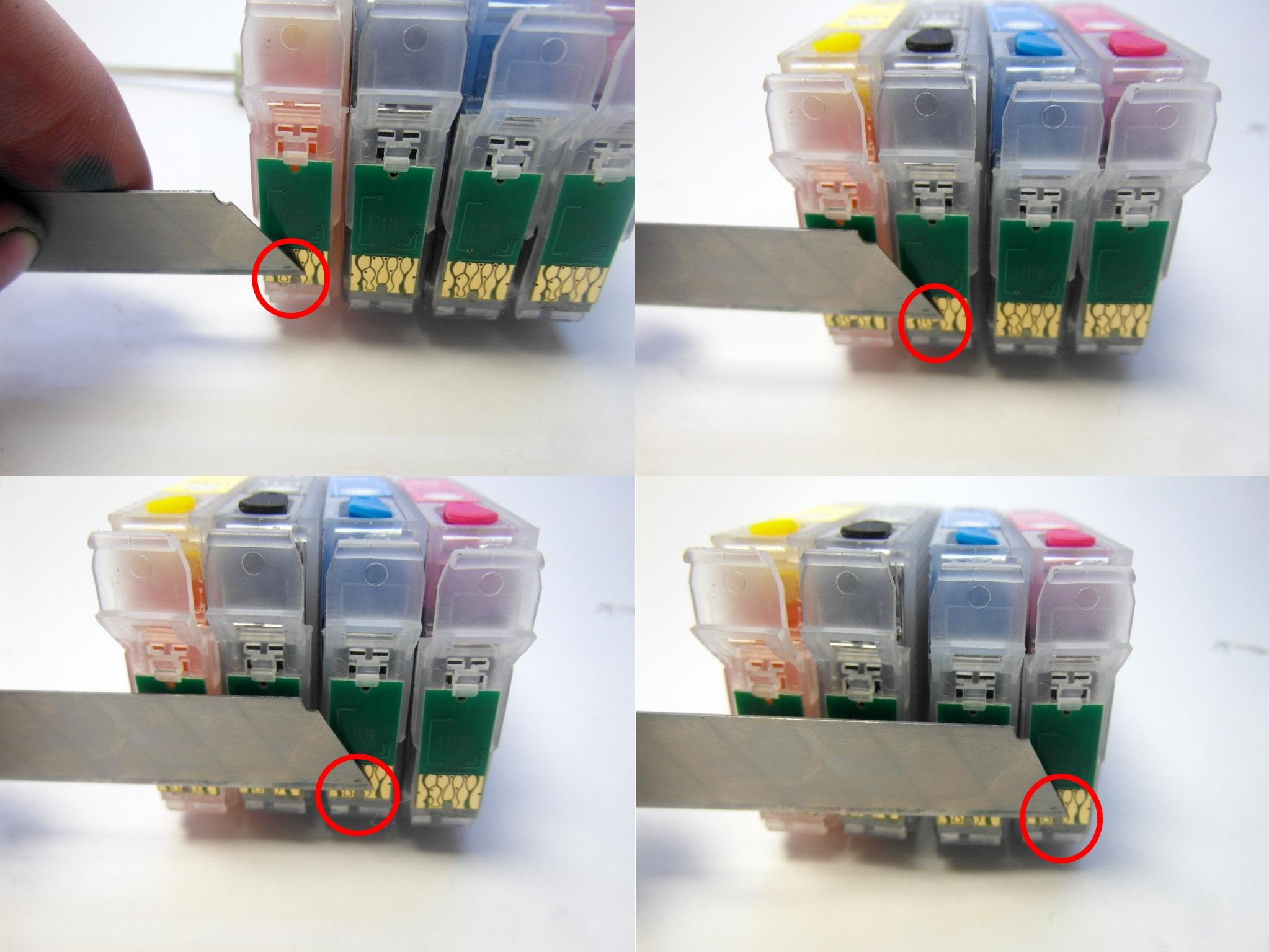 Почему принтер не видит картридж после заправки
